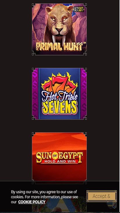 classy slots game mobile