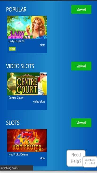 eskimocasino game mobile
