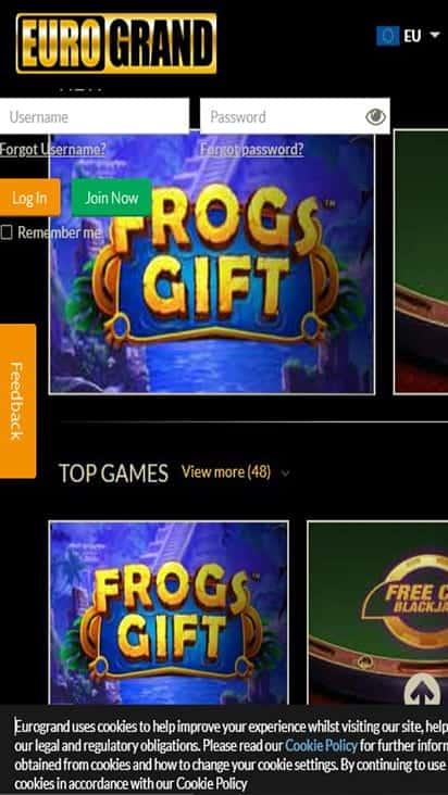 euro grand game mobile