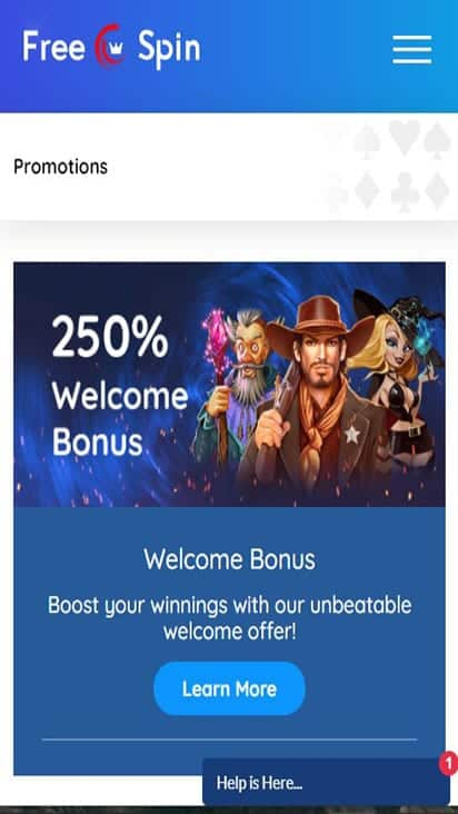 free spin new promo moible