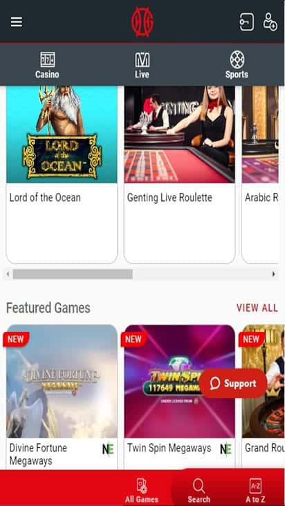 genting casino game mobile