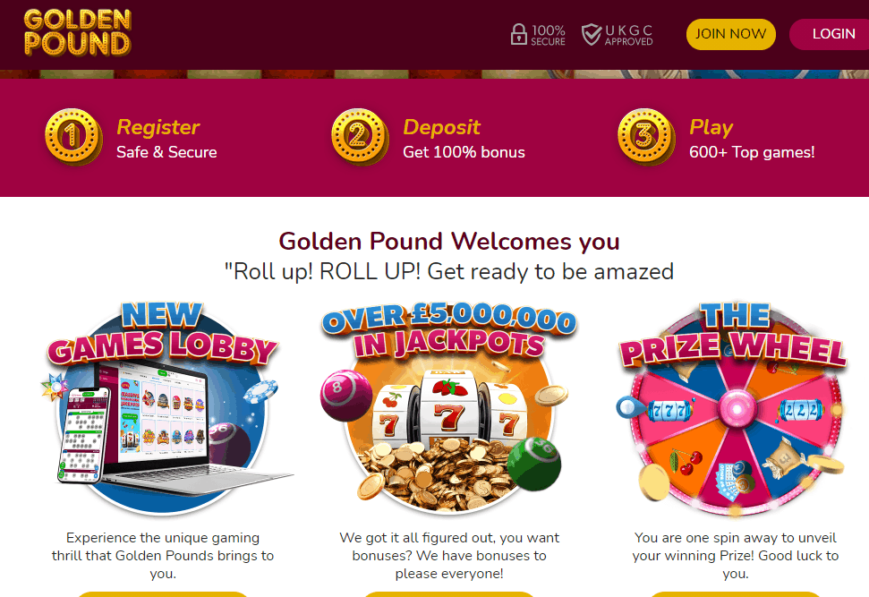 golden pound promotions
