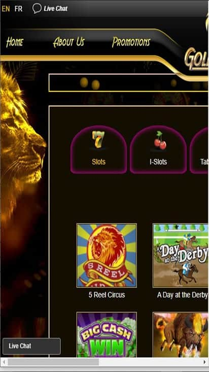 goldenlionnew game mobile