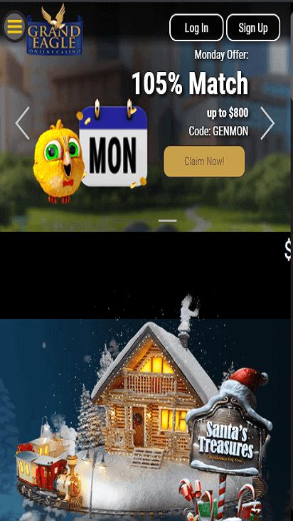 grand eagle casino pomo moible