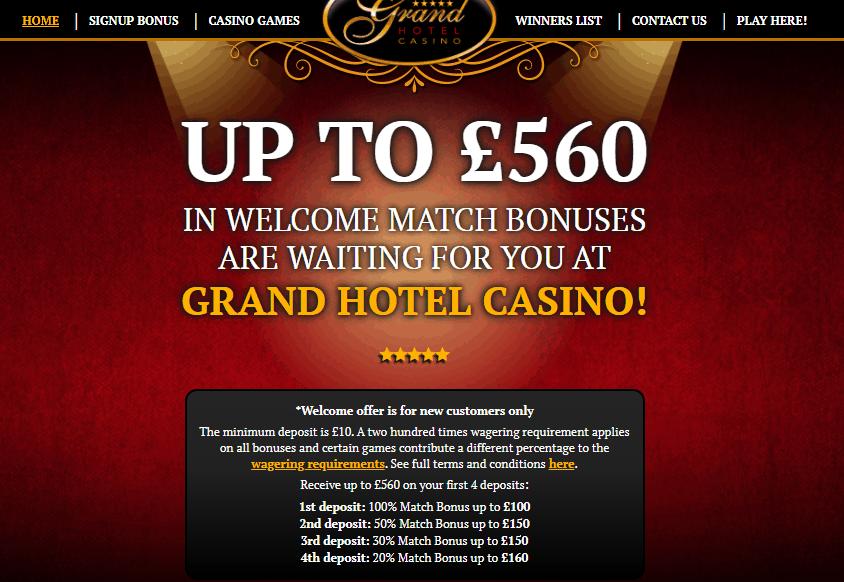 grant hotel casino home