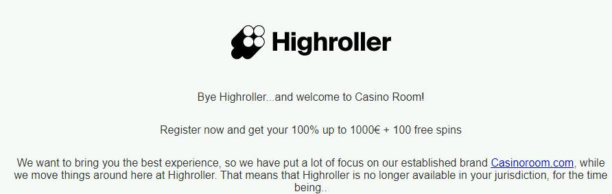 highroller home moved NA
