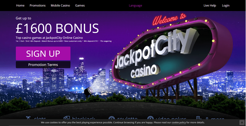 lucky casino home