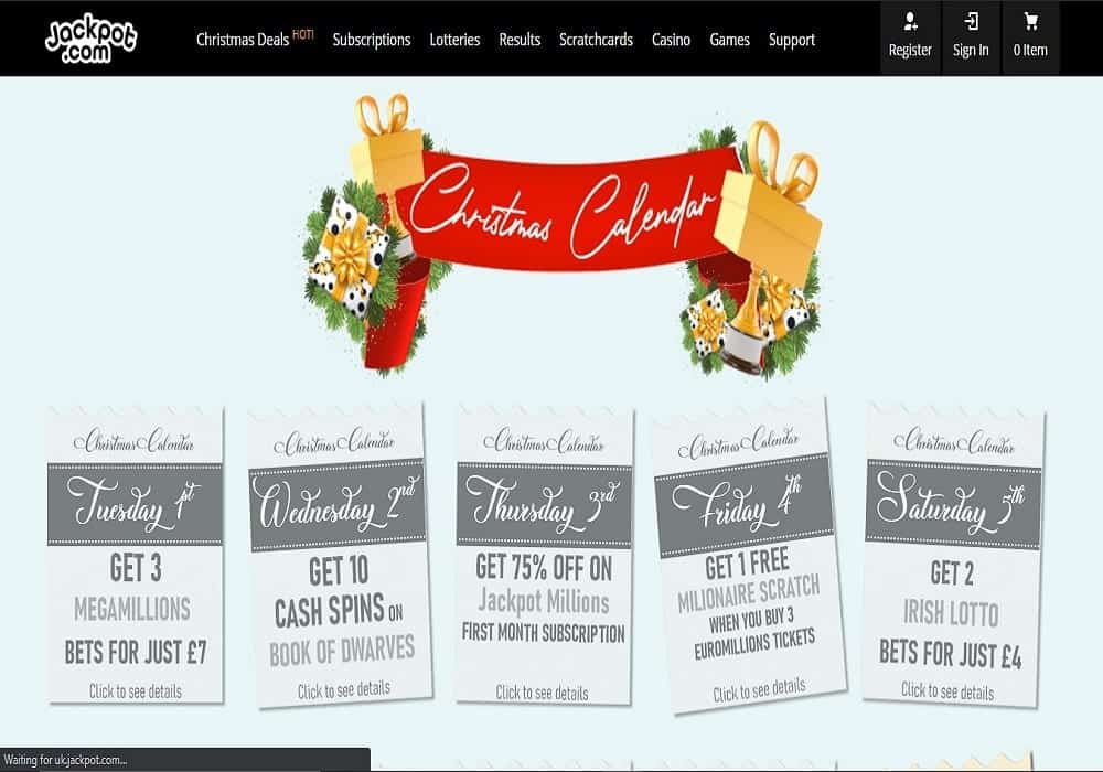 Fruity King promotions page