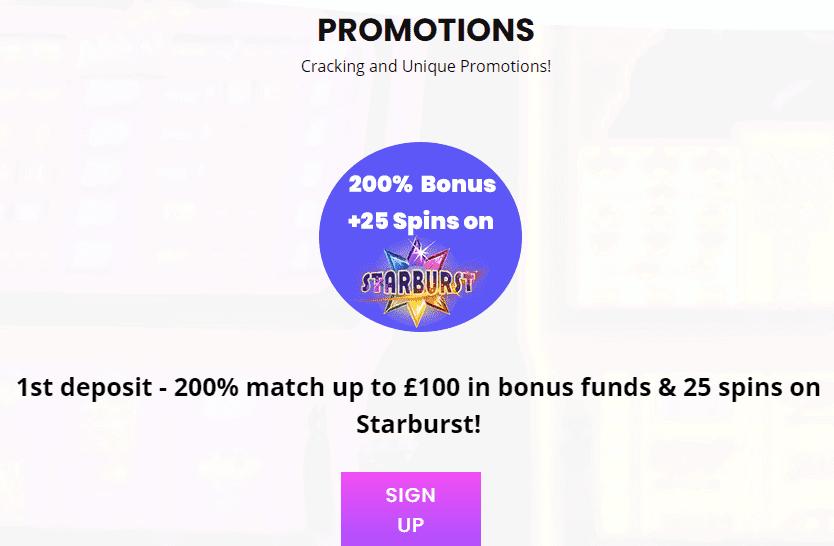 jackpot slot promotions