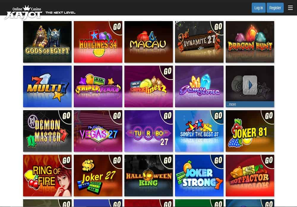 grande vegas casino games