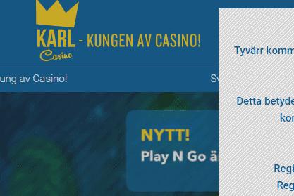 karl casino front image