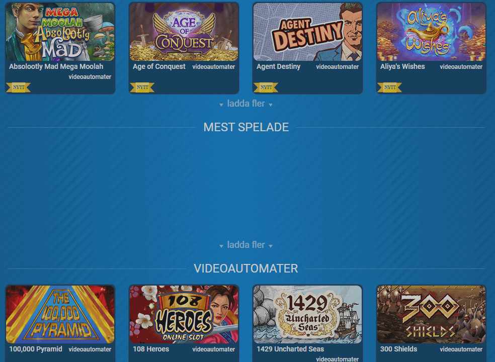 karl casino games