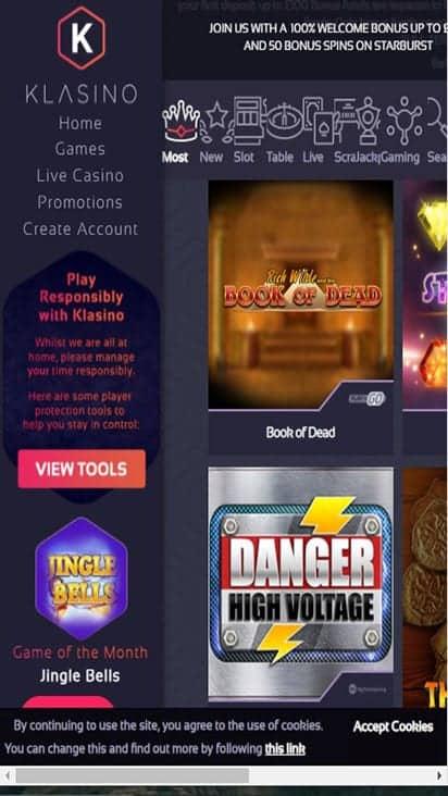 klasino game mobile