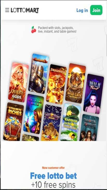 lottomart game mobile