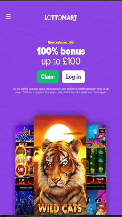 lottomart home mobile