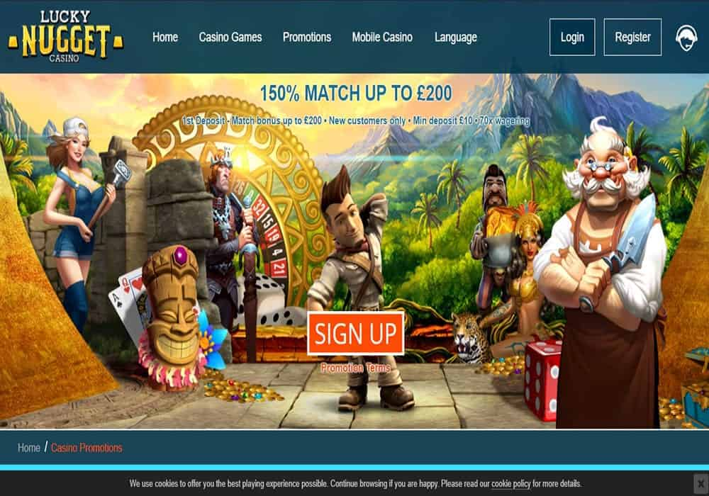 lucky casino promotions
