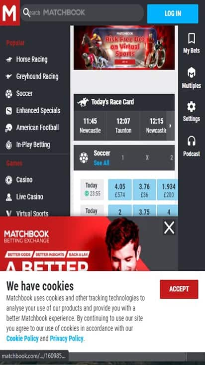 match book home mobile