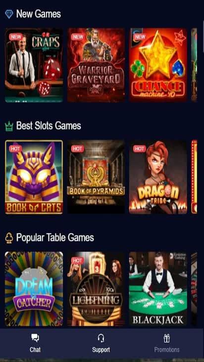 mbit casino game mobile