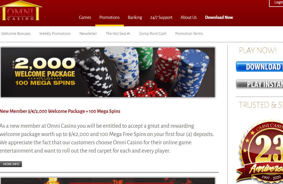 omni casino promotions