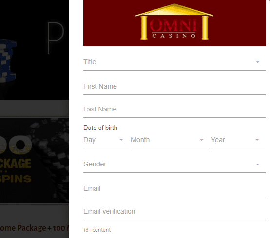 omni casino sign up