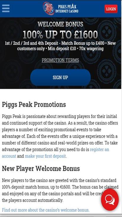 piggspeak promo mobile