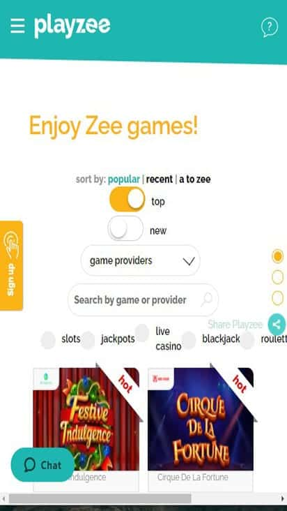 playzee game mobile
