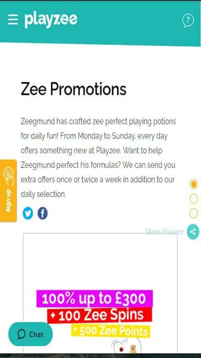 playzee promo mobile