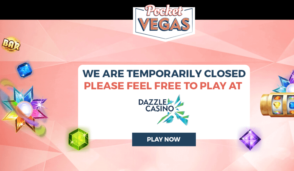 pocket vegas home CLOSED NA