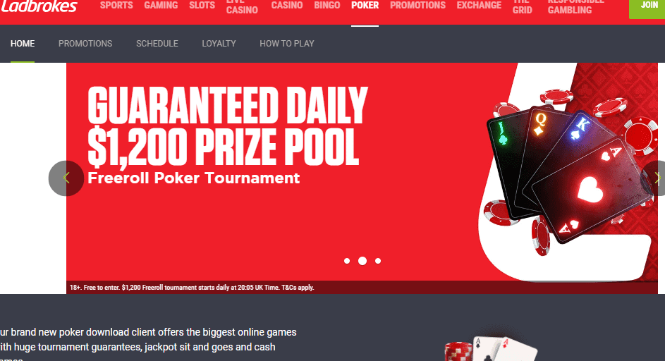 poker ladbrokes promotions