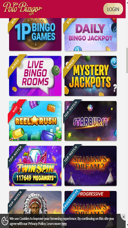 polo bingo game mbile