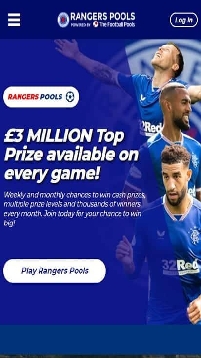 rangers pools home mobile