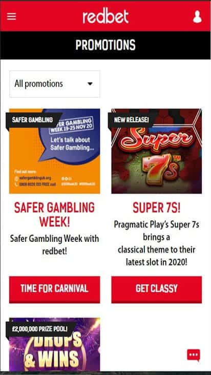 red bet promo mobile