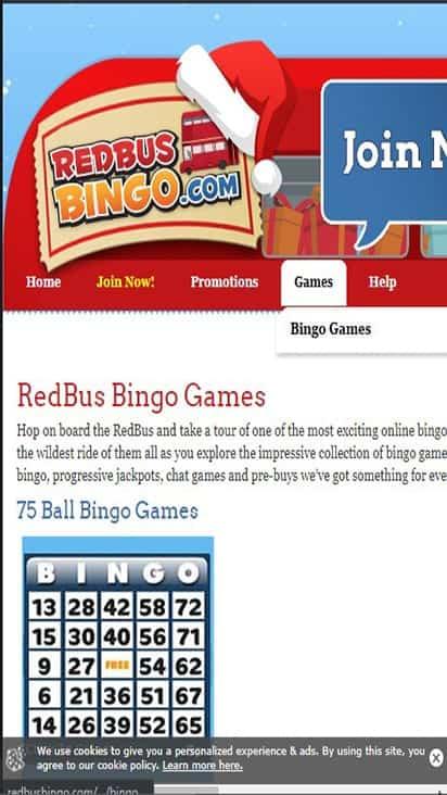 redbus bingo game mobile