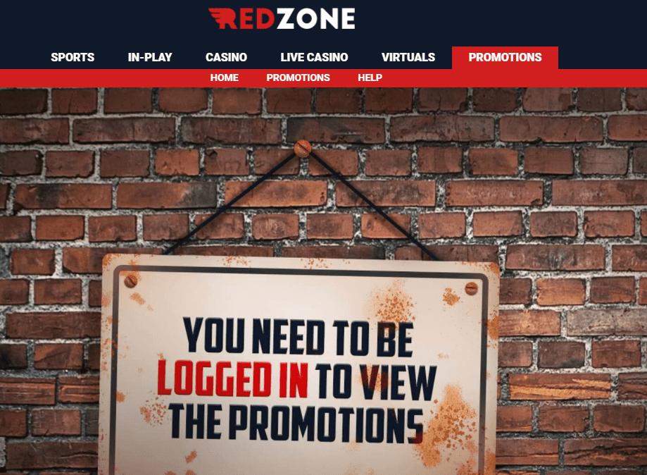 redzone sports promotions
