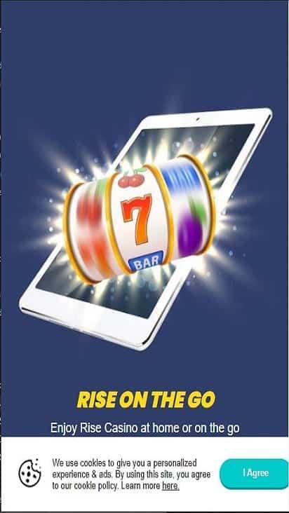 rise casino pomo mobile