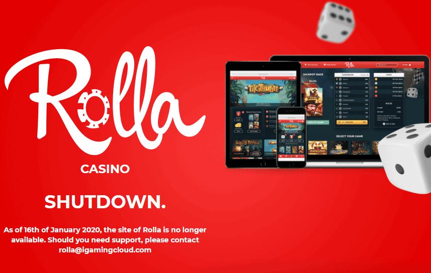 rolla casino home shut down NA