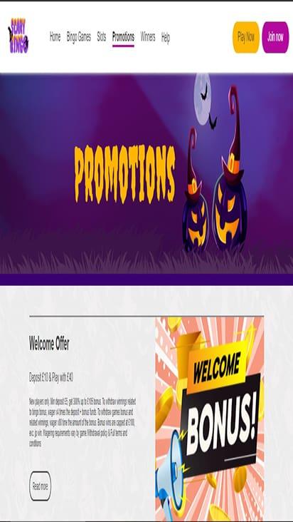 scarybingo promo mobile