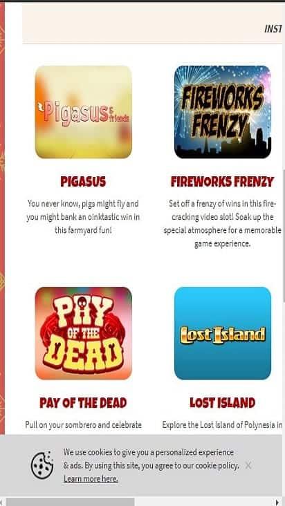 season bingo game mobile