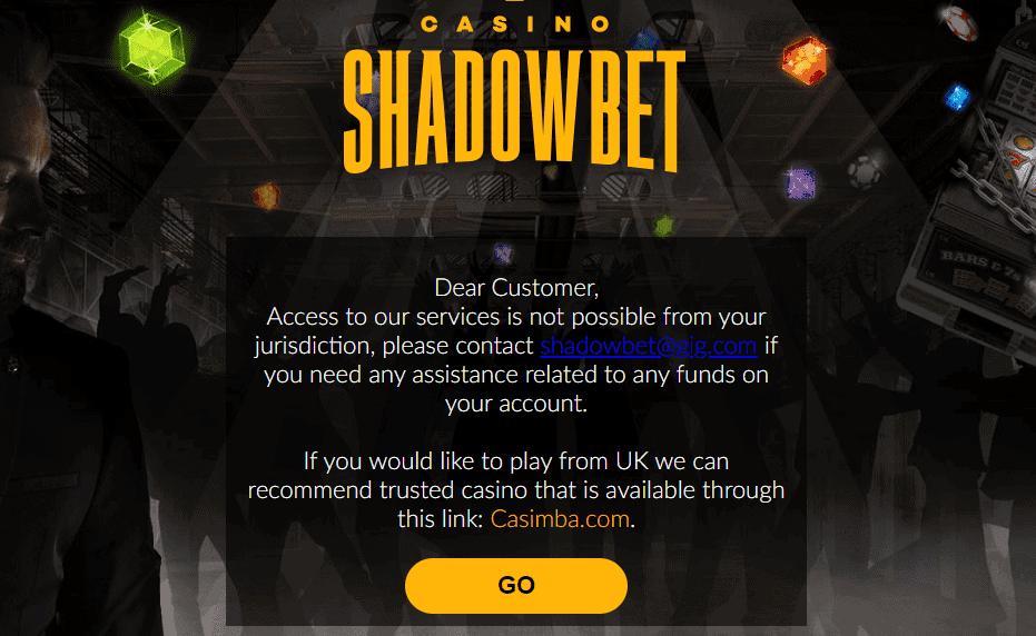 shadow bet home NA