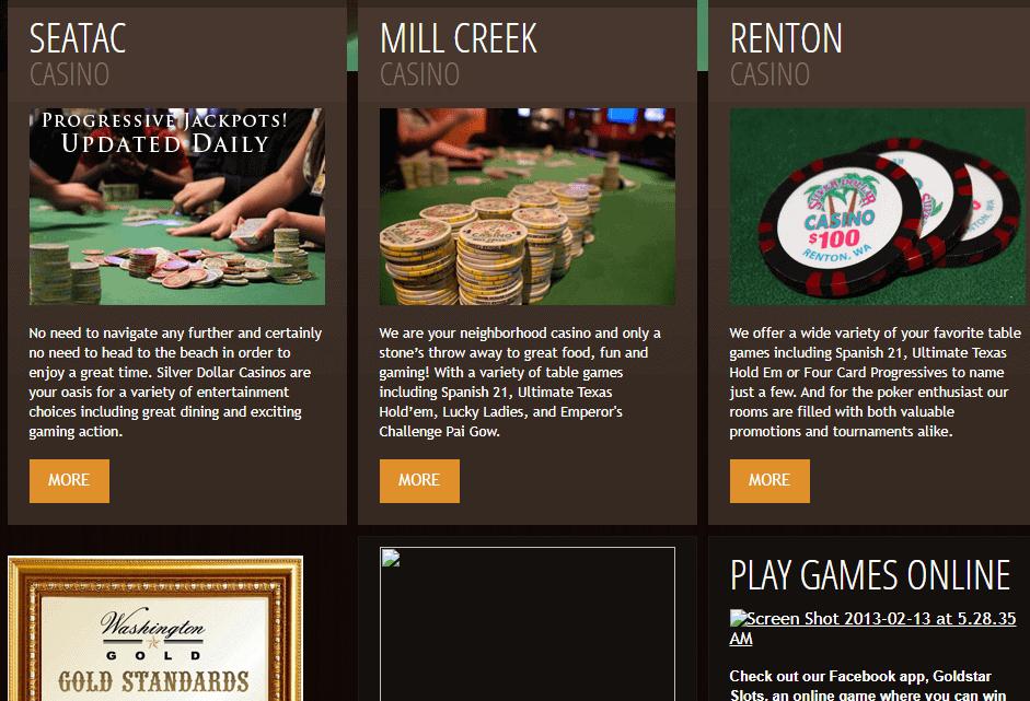 silverdollar casino games