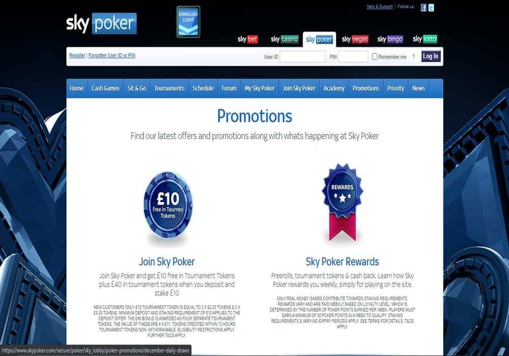 Sky Bingo promotions