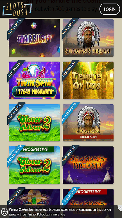 slots of dosh game mobie