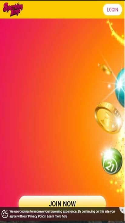 sparkling bingo home mobile