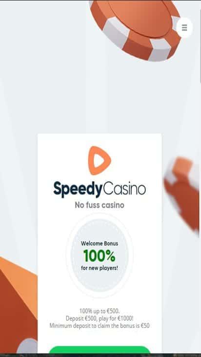 speedy casino home mobile