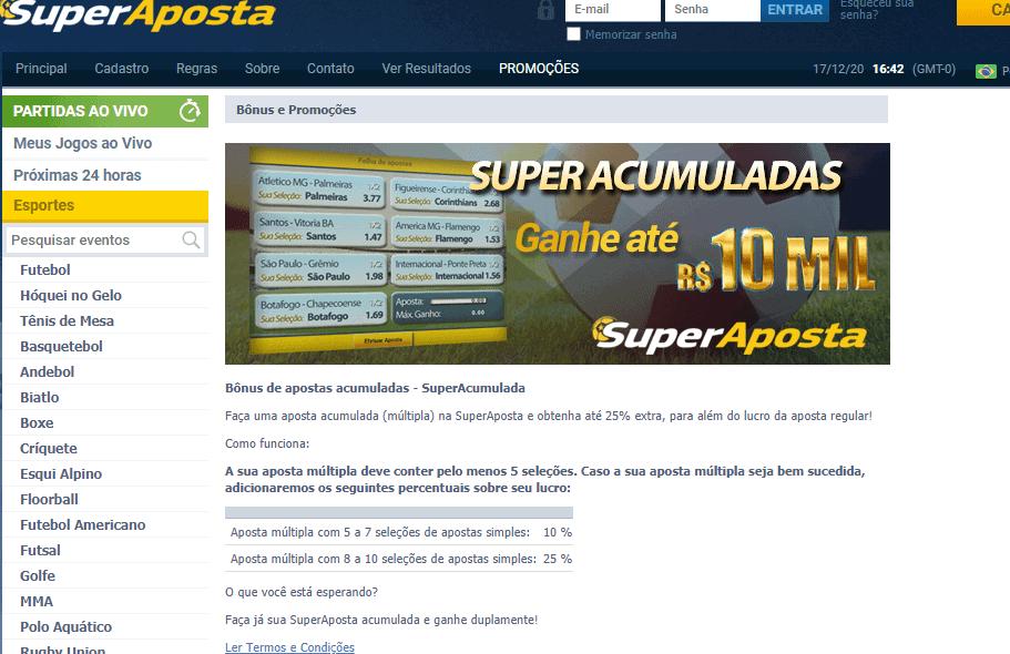 super aposta promotions