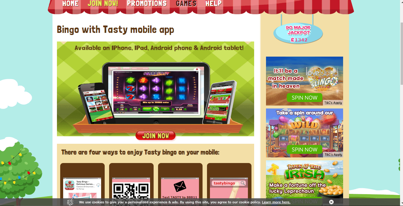 888 Casino games page
