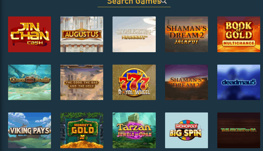 the online casino games