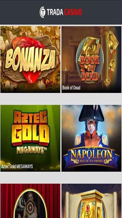 trada casino game mobile