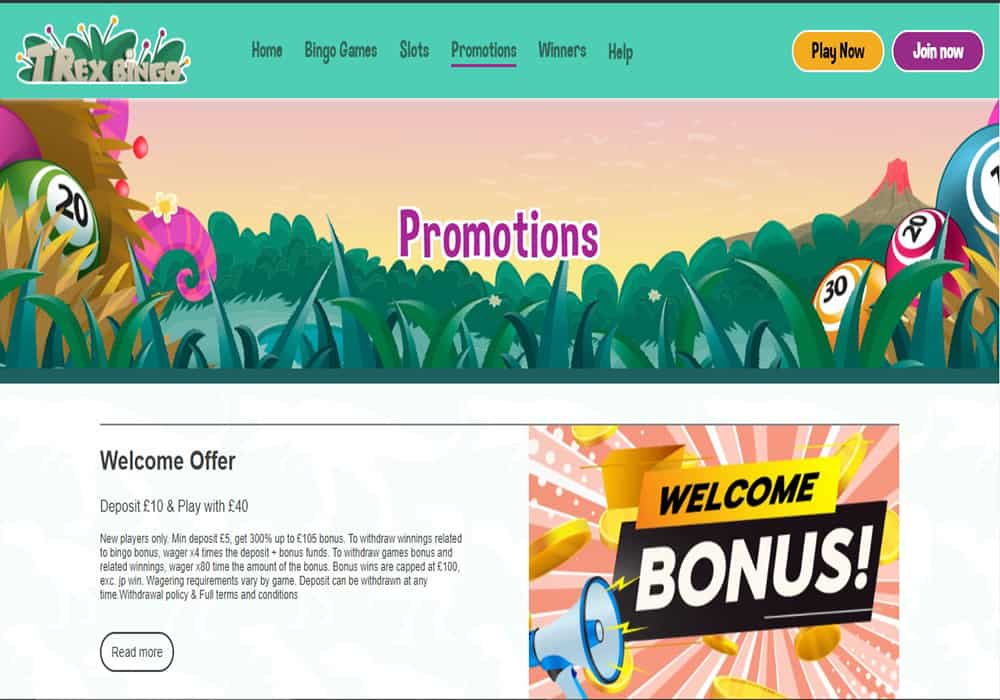 888 Casino promotions page