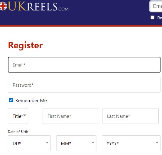 uk reels sign up